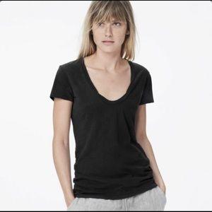 Standard James Perse deep scoop neck T-shirt sz 3